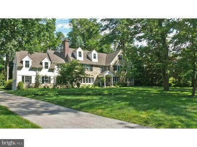 Bryn Mawr Single Family Home For Sale: 510 Great Springs Road
