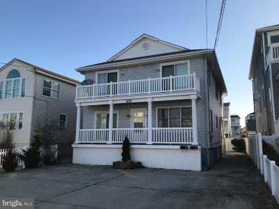 Brigantine Single Family Home For Sale: 205 12th St N #A