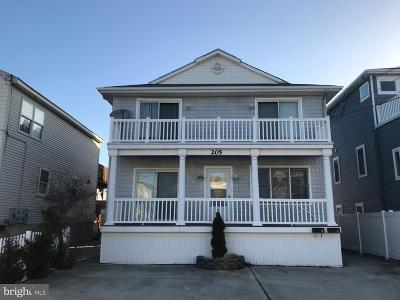 Brigantine Single Family Home For Sale: 205 12th St N #B