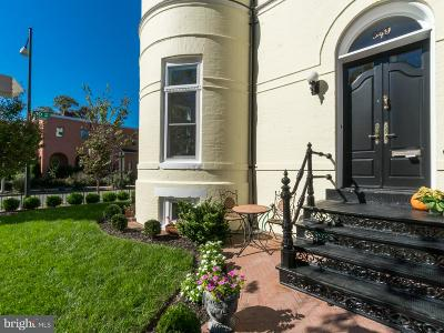 Washington Single Family Home For Sale: 949 S Street NW