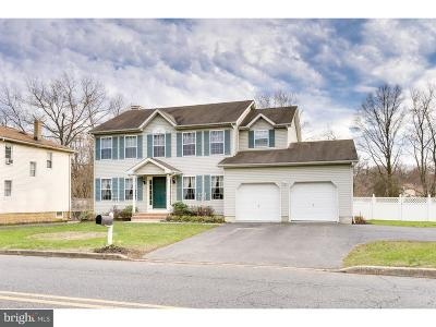 Bordentown Single Family Home For Sale: 77 Groveville Road