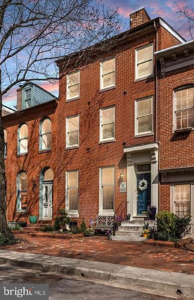 Baltimore Single Family Home For Sale: 116 Lee Street W