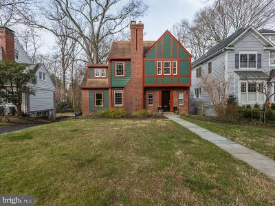 Chevy Chase Single Family Home For Sale: 7310 Delfield Street