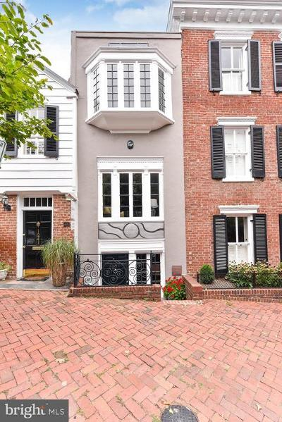 Georgetown Townhouse For Sale: 1239 30th Street NW