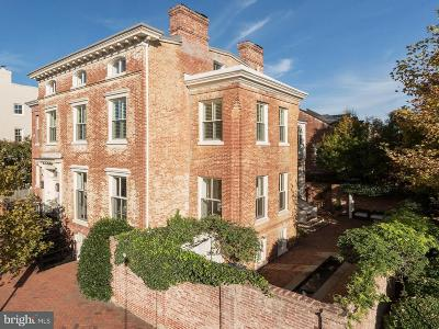 Georgetown Single Family Home For Sale: 1403 30th Street NW