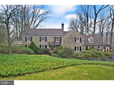 Huntingdon Valley Single Family Home For Sale: 1543 Old Welsh Road