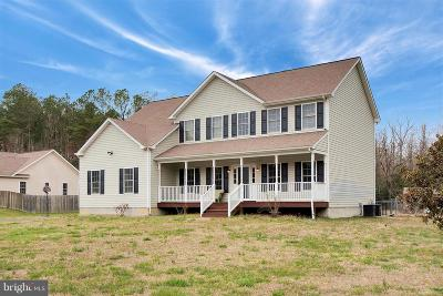 King George County Single Family Home For Sale: 14611 Round Hill Road