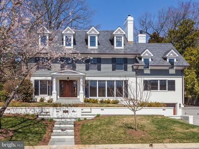 Chevy Chase Single Family Home Active Under Contract: 5205 Lawn Way
