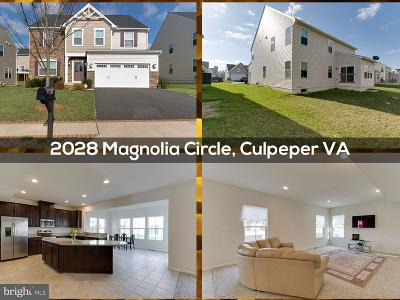 Culpeper Single Family Home For Sale: 2028 Magnolia