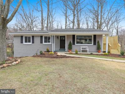 Rockville Single Family Home Active Under Contract: 14323 Briarwood Terrace