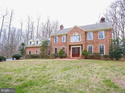 Fairfax, Fairfax Station Single Family Home For Sale: 10709 Shadowglen Trail