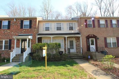 Upper Marlboro Townhouse Under Contract: 9031 Florin Way