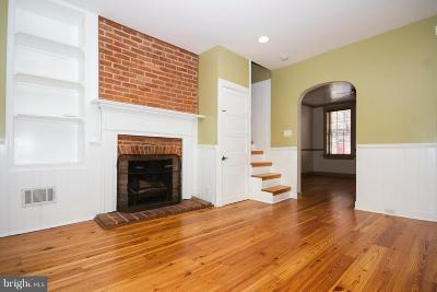 Fells Point Townhouse For Sale: 805 Bond Street S