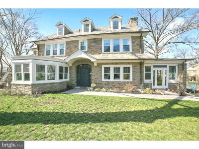 Jenkintown Single Family Home For Sale: 429 Clement Road