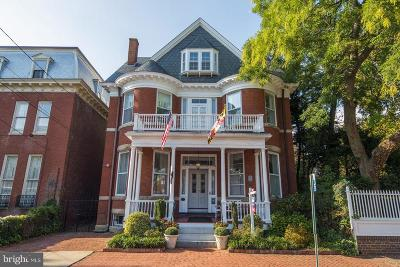 Annapolis Single Family Home For Sale: 30 Maryland Avenue