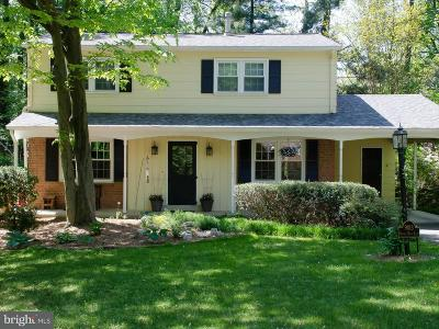 Annandale Single Family Home Active Under Contract: 9013 Orange Hunt Lane
