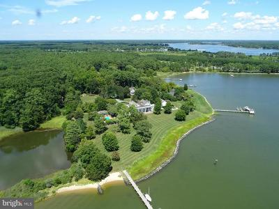 Bozman, Claiborne, Cordova, Easton, Mcdaniel, Neavitt, Newcomb, Oxford, Queen Anne, Royal Oak, Saint Michaels, Sherwood, St Michaels, St. Michaels, Tilghman, Trappe, Wittman, Wye Mills Single Family Home For Sale: 5733 Pecks Point Road