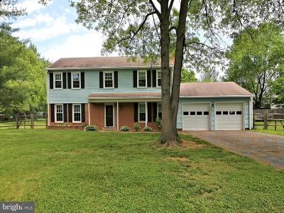 Poolesville Single Family Home For Sale: 17213 Whites Road