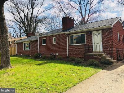 Falls Church Single Family Home Under Contract: 401 Virginia Avenue S