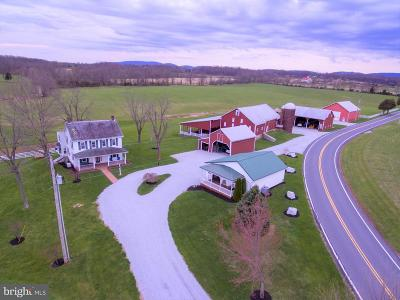 Gettysburg Single Family Home For Sale: 660 Cunningham Road