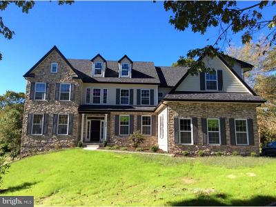 Glen Mills Single Family Home For Sale: Lot 2 Ivy Mills Road