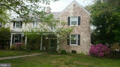 Catonsville Single Family Home Active Under Contract: 99 Paradise Avenue