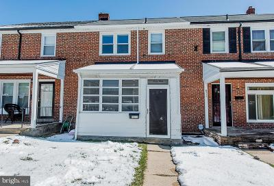 Baltimore MD Townhouse Under Contract: $139,900