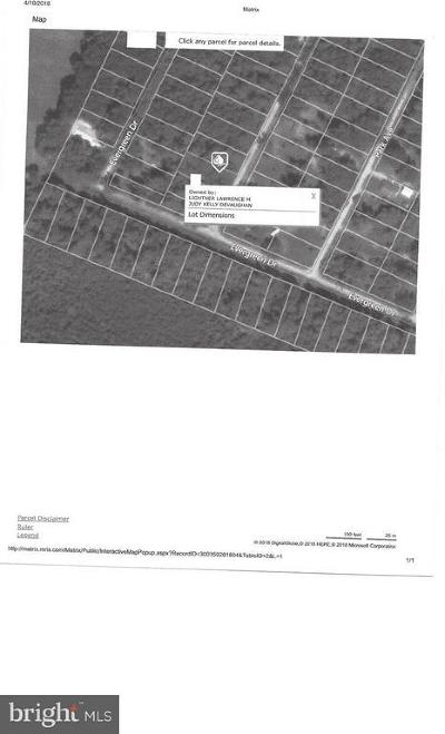 Colonial Beach Residential Lots & Land For Sale: Pine Street