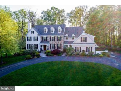 Newtown Square Single Family Home For Sale: 47 Farrier Lane