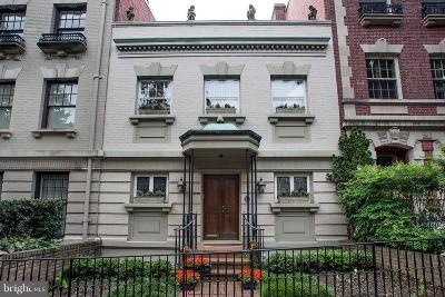Kalorama Townhouse For Sale: 2130 Bancroft Place NW
