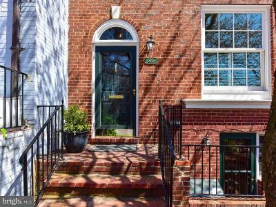 Alexandria City Townhouse For Sale: 810 Lee Street S