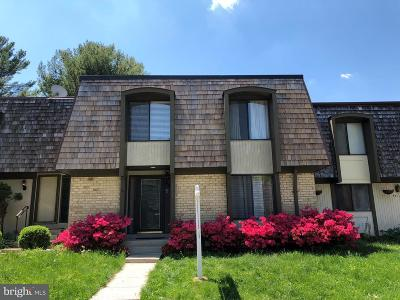 Gaithersburg Townhouse Active Under Contract: 9514 Fern Hollow Way
