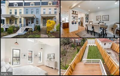 Washington DC Single Family Home For Sale: $1,794,500