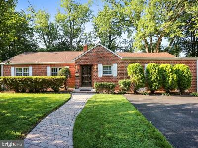 Montgomery County Single Family Home For Sale: 3200 McComas Avenue