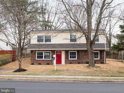 Dale City Single Family Home For Sale: 4617 Kenwood Drive