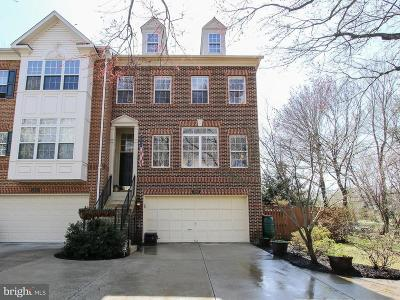 Rockville Townhouse For Sale: 2001 Ashleigh Woods Court