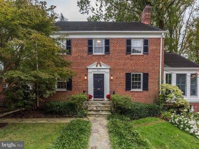Washington DC Single Family Home For Sale: $1,695,000