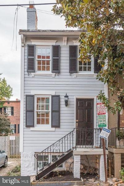 Georgetown Townhouse For Sale: 2710 Poplar Street NW