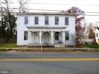 Sudlersville Single Family Home For Sale: 108 Main Street
