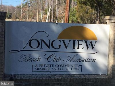 Calvert County, Saint Marys County, Charles County Residential Lots & Land Active Under Contract: Longview