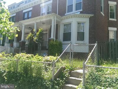 Columbia Heights Single Family Home For Sale: 512 Quincy Street NW