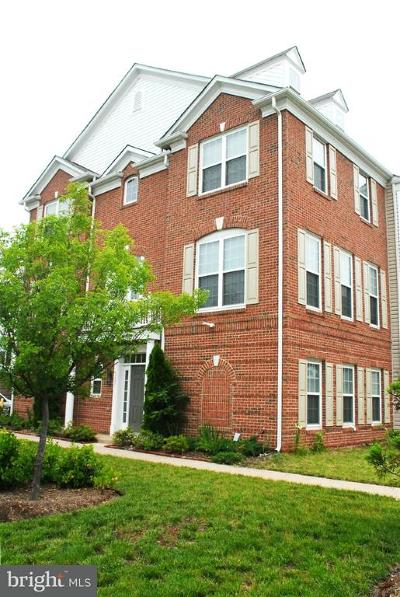 Centreville Townhouse For Sale: 5035 Cool Fountain Lane