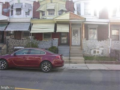 Overbrook Single Family Home For Sale: 1419 N 59th Street