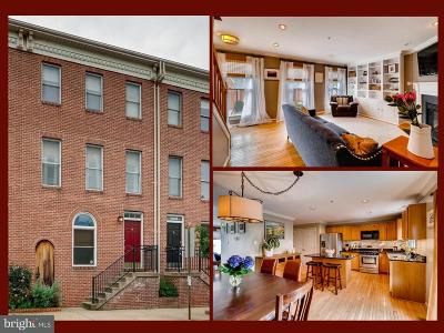 Federal Hill Single Family Home For Sale: 823 Hanover Street
