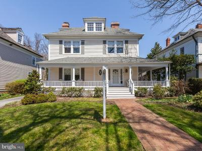 Chevy Chase Single Family Home For Sale: 11 Irving Street
