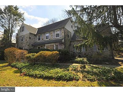 Merion Station Single Family Home For Sale: 350 Winding Way