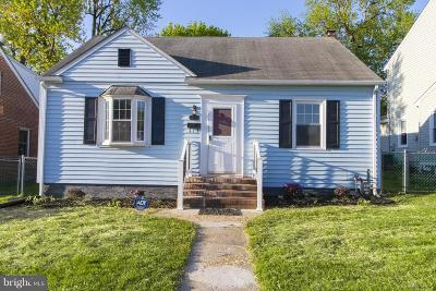 Linthicum Heights Single Family Home For Sale: 423 Shipley Road