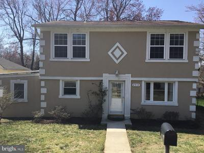 Silver Spring Single Family Home For Sale: 2510 Weisman Road