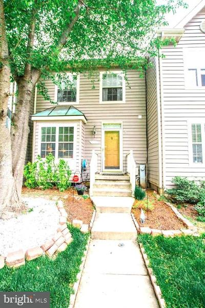 Owings Mills Single Family Home For Sale: 9326 Town Place Drive
