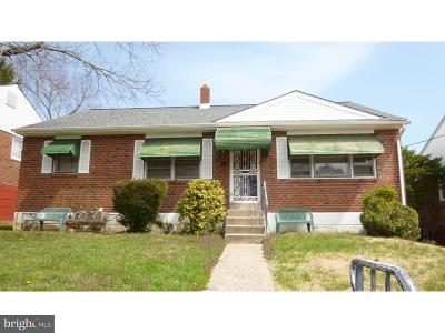 Yeadon Single Family Home For Sale: 1103 Stetser Avenue